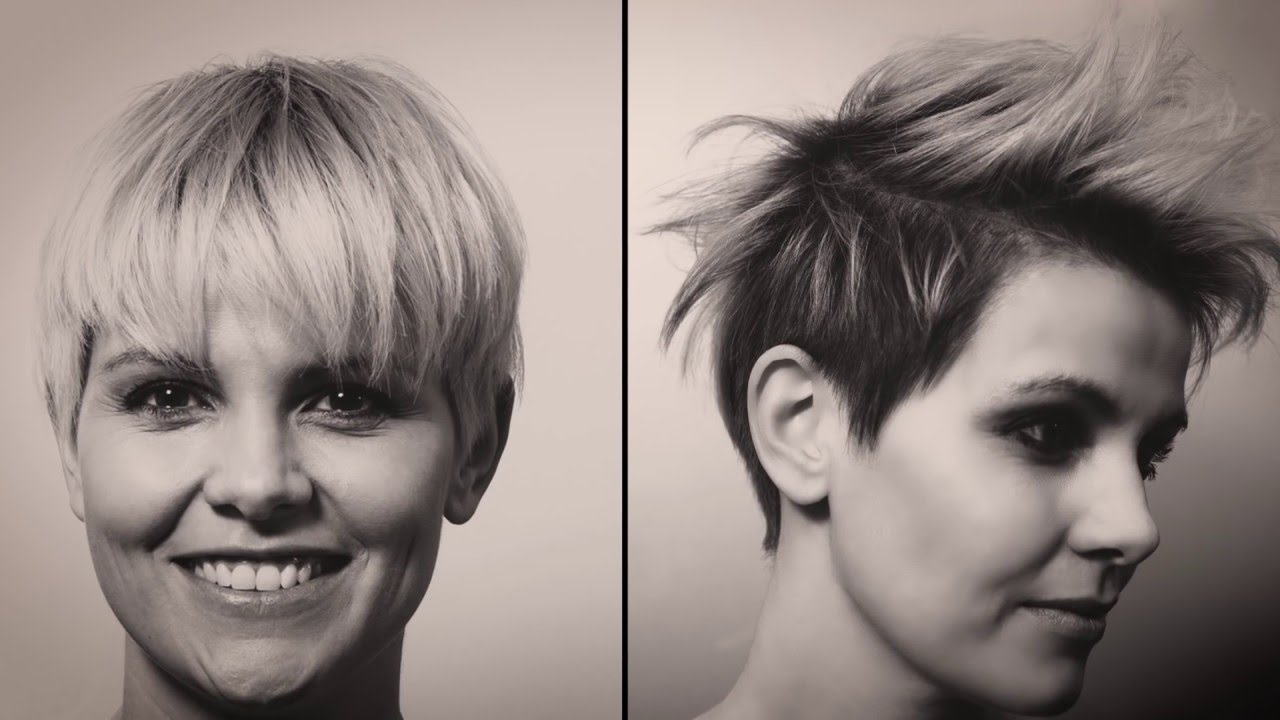 how to style a pixie cut on black hair hair tutorial wie style und kreiere ich den perfekten 4164
