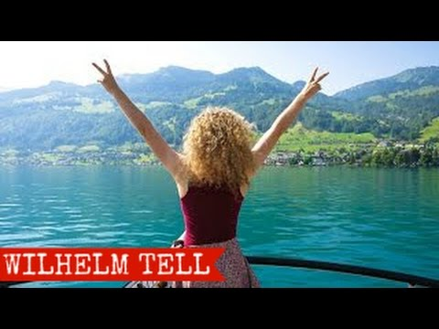 Luzern to Lugano by Wilhelm Tell Express, Switzerland 2015 - FULL HD
