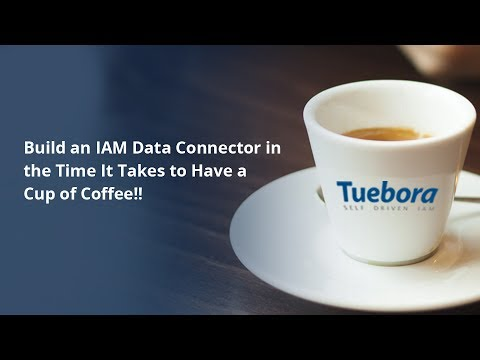 Build IAM Connectors in the Time it takes to have a cup of c