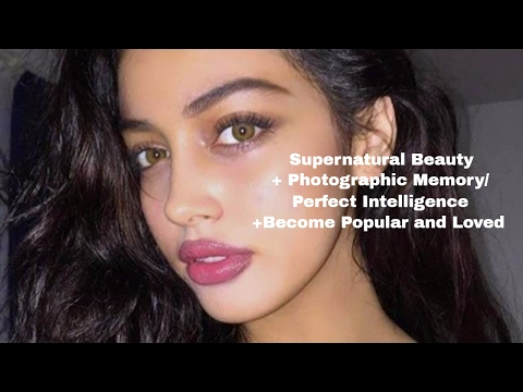 Supernatural Beauty, Intelligence, and Attract Friends **subliminal+binaural beats**