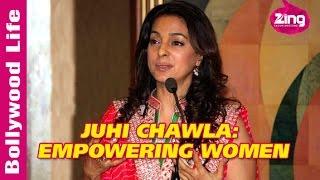 Juhi Chawla on women empowerment, social issues