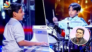 Interview : First Indian Kids performance in American TV Show | AR Rahman Students Jacob, Jonathan