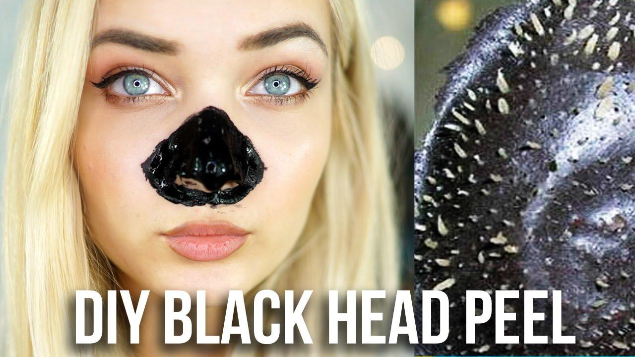 Diy black head nose peel beauty hack tested youtube solutioingenieria Images