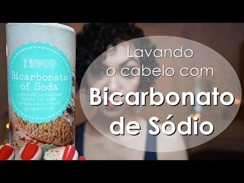 Lavando O Cabelo Com Bicarbonato De Sodio With Subtitles