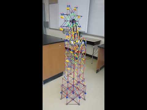 "MS7 / Global Technology Preparatory - Knex ""Sawblade"" by Jalil and Deyvi"