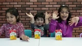 Three Kids Try Pakistani Juice