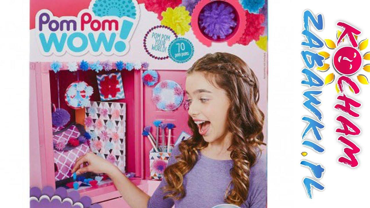 Pom Pom Wow • DIY • Mały Dekorator • Zrób to sam • Kreatywne zabawki