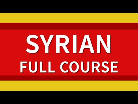 Learn Syrian Arabic 500 Phrases for Beginners Full Course Le