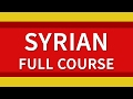Learn Syrian Arabic 500 Phrases for Beginners Full Course Lessons 1-20