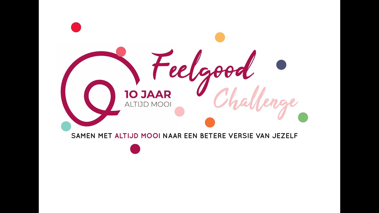 #Feelgood Challenge: Let's Go!