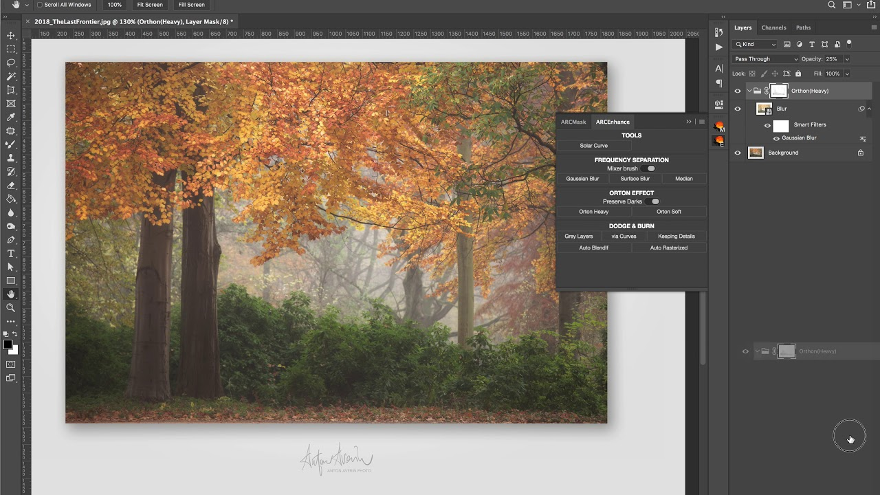 ARCPanel – Luminosity masks and more