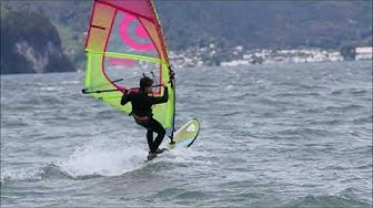 Windsurf: Urnersee, Switzerland, 20/10/2019 - music edition