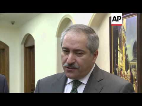 Turkish and Jordan FM discuss threat posed by Islamic State, French Muslim leaders comment