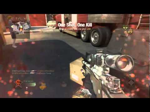 Call of Duty Black Ops - SnD noscope