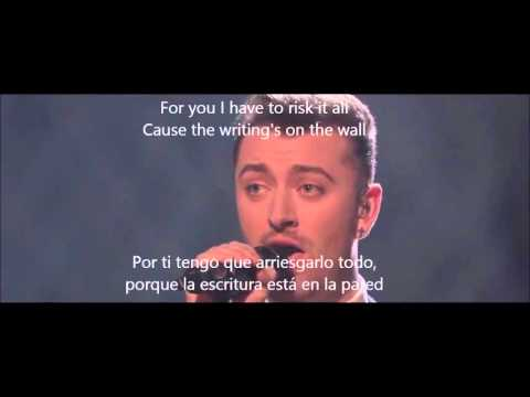 Sam Smith Writing's On The Wall Subtitulado