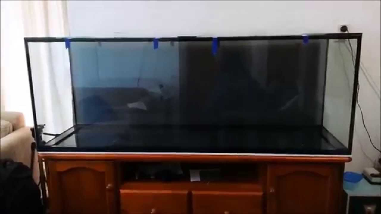 150 gallon new aquarium 2015 youtube