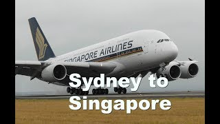 Window or Legroom? SQ222 A380 Sydney to Singapore