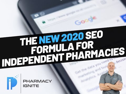 The NEW 2020 SEO Formula For Independent Pharmacies Webinar
