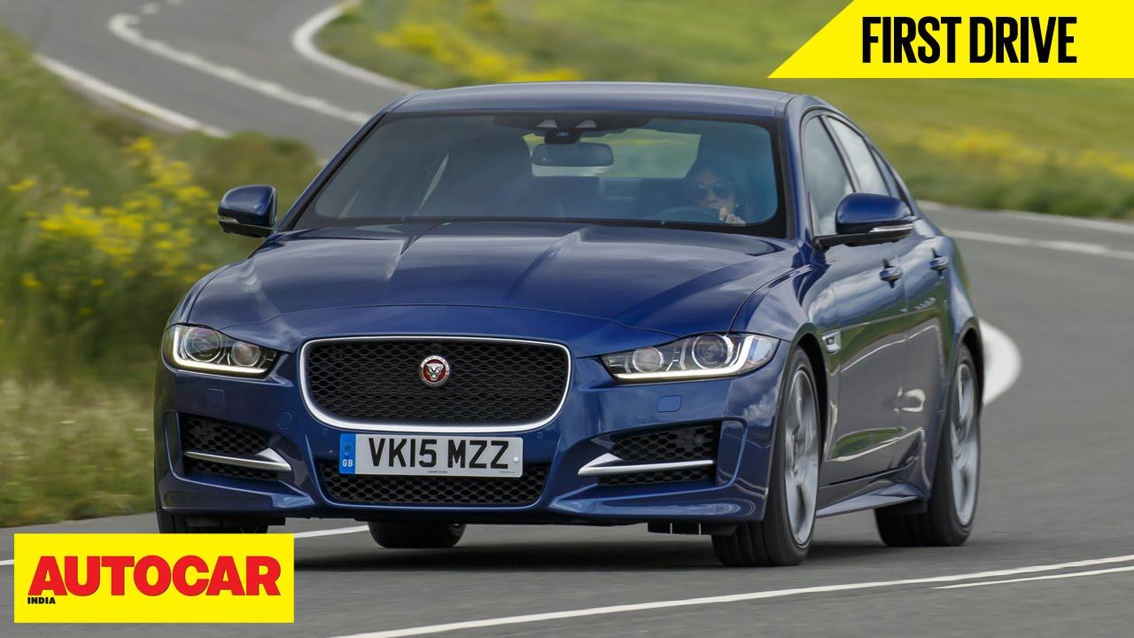 jaguar xe | first drive | autocar india - youtube