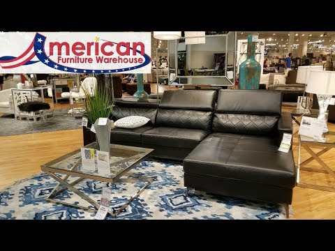 AMERICAN FURNITURE WAREHOUSE BROWSE WITH ME FURNITURE HOME IDEAS WALK THROUGH 2018