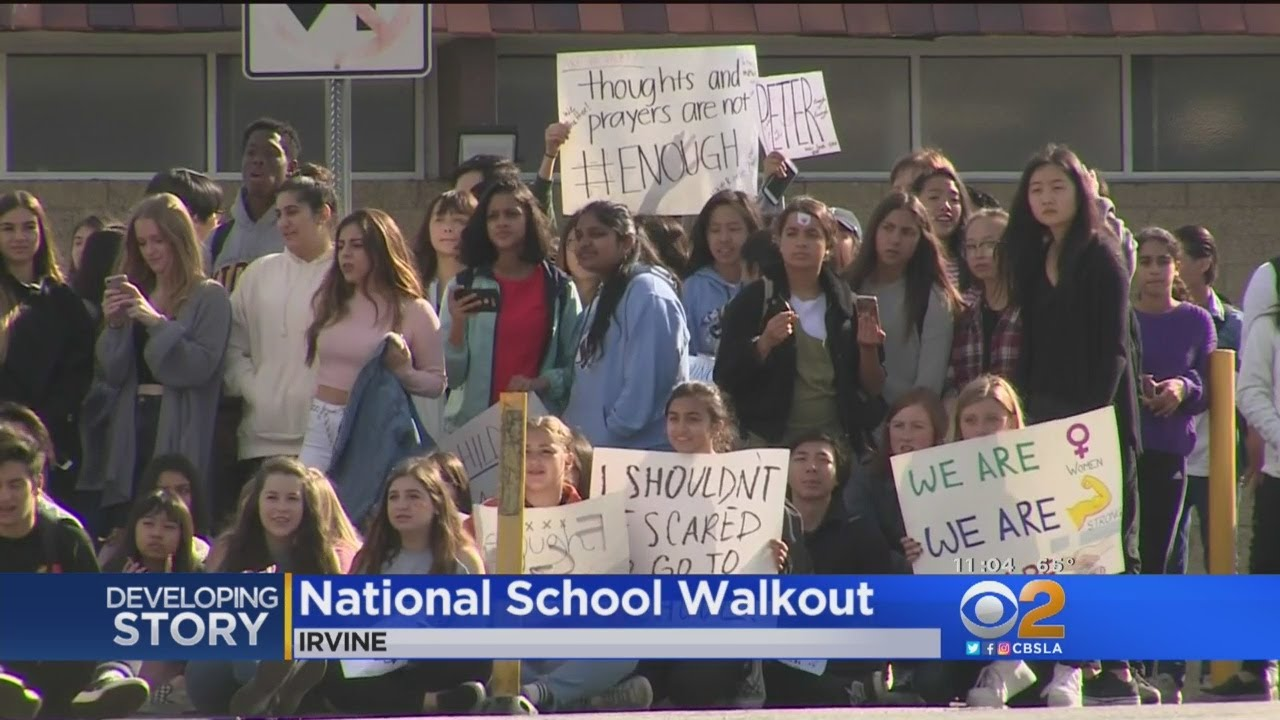 Students Nationwide Say 'Enough', Stage Walkouts Against Guns