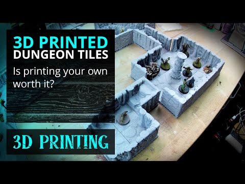 RPG 3D Printed Terrain - Is It Worth It