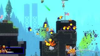 Vídeo Broforce