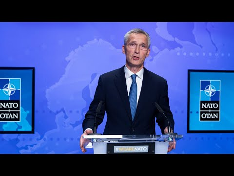 NATO Secretary General Press Conference at Foreign Ministers Meeting, 20 AUG 2021