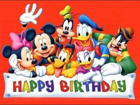 happy happy birthday disney