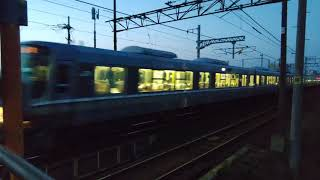 JR西日本 琵琶湖線 普通電車 4K撮影