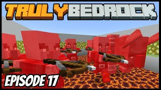 AFK Raid Farm Is Finished! - Truly Bedrock (Minecraft Survival Let's Play) Episode 17