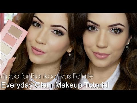 Everyday Glam Makeup Tutorial | #PippaForBlankcanvas thumbnail