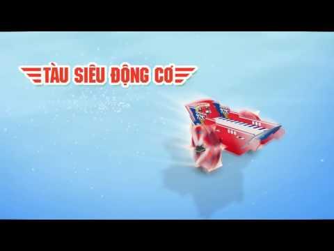 Tặng ngay bộ ghép hình 3D Siêu Tốc từ Con Bò Cười!
