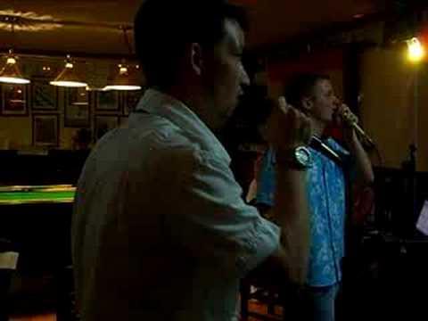 josh (me) & nath karaoke