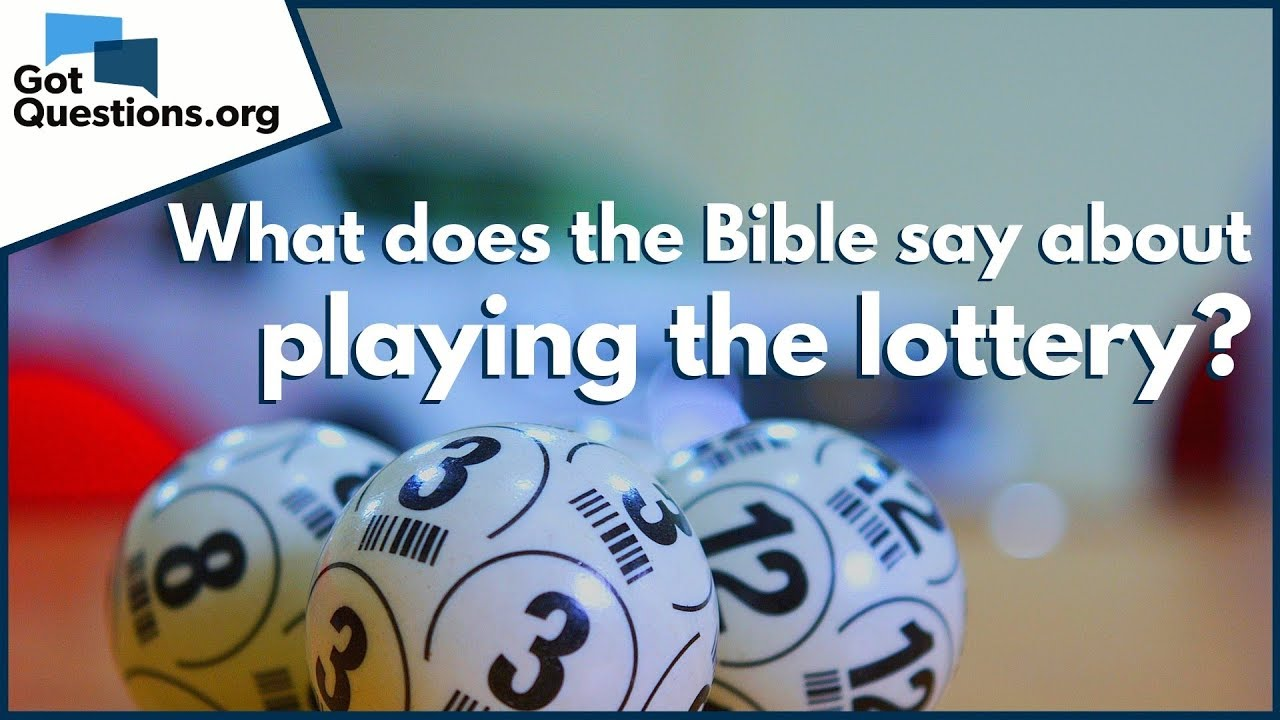 What Part Of The Bible Says Gambling Is A Sin