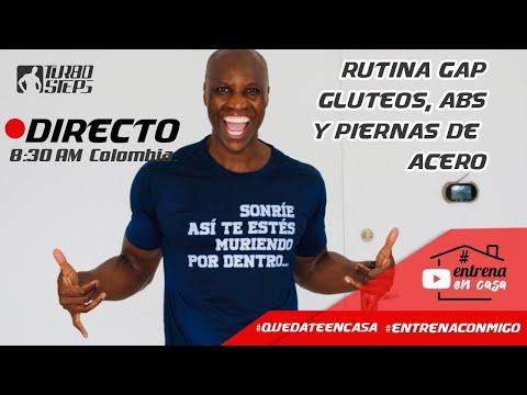 RUTINA GAP: GLUTEOS ABDOMEN Y PIERNAS DE HIERRO Y CEMENTO