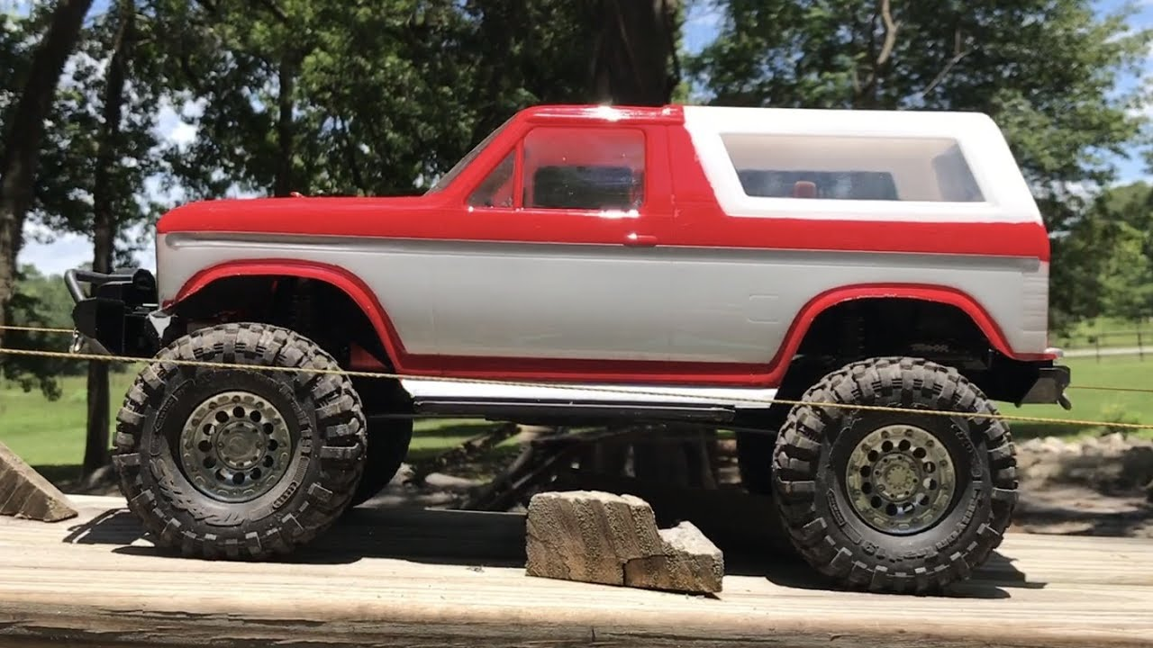 Traxxas TRX4 Bronco Brushless on the Rocks