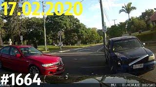 Новая подборка ДТП и аварий от канала «Дорожные войны» за 17.02.2020. Видео № 1664.