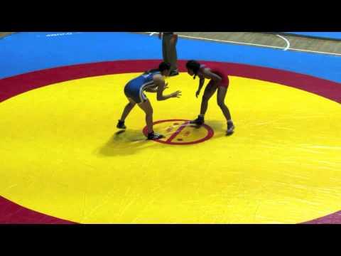 2012 Cadet Pan-American Championships: 60 kg Venezuela vs. El Salvador