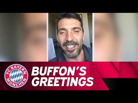 Buffons says Farewell to Philipp Lahm #DankePhilipp