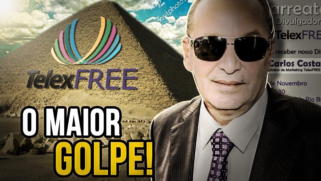 TELEXFREE - O MAIOR GOLPE APLICADO NO BRASIL