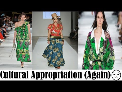 African Fashion Appropriated at Paris Fashion Week