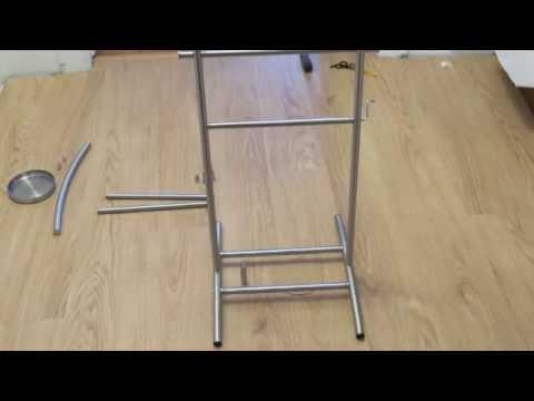 Ikea Grundtal Valet Stand Time Lapse Assembly Youtube