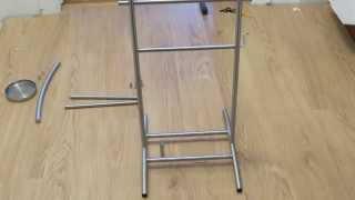 Ikea Grundtal Valet Stand Time-lapse Assembly