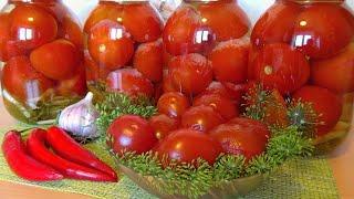 🍅Острые помидоры закусочные с хреном горчицей горьким перцем / Лучшая закуска для мужского застолья