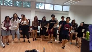 Body Rhythm Workshop at Singapore Polytechnic