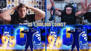 2x TOTS Premier League Pack&Play vs N3jxiom! 95+ WALKOUT! 1.000.000 QS?! | FIFA 19