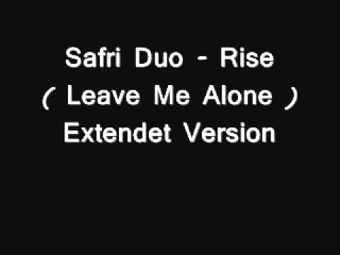 Клип Safri Duo - Rise (leave me alone) (Extended version)