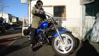 ホンダ:V-TWINマグナ250:ブルー参考動画