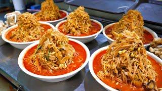 Им управляет корейский певец! Неограниченное количество jjajangmyeon, jjamppong / Korean street food